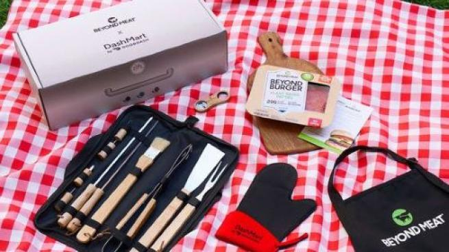 DoorDash Partners With Beyond Meat on Summer Grilling Kits