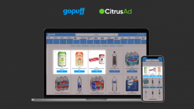Gopuff, CitrusAd Announce New Platform for Ad Placement