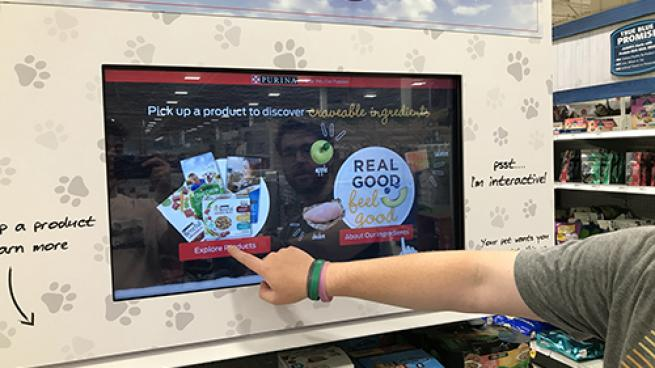 Meijer Offers In-Store Digital Platform for Pet Products at 200 Grocery Stores Perch Purina