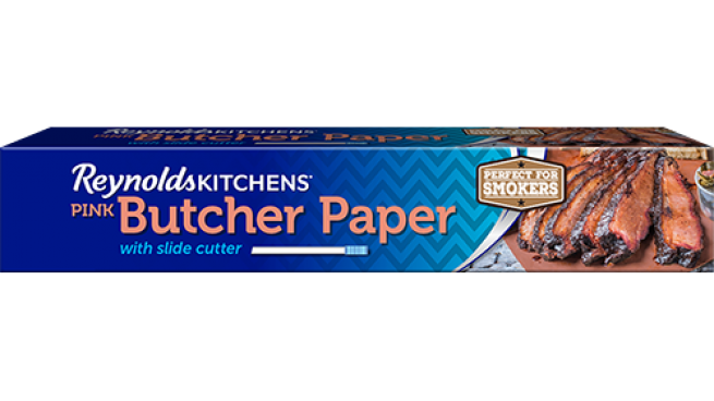 Reynolds Kitchens Pink Butcher Paper with Slide Cutter