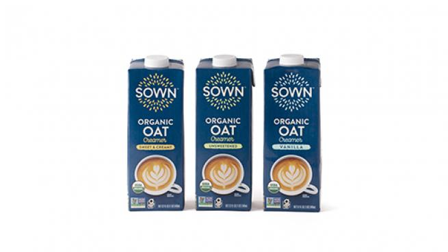 Sown Organic Oat Creamers