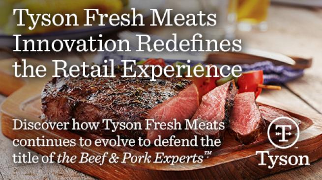 Tyson Fresh Meats Innovation Redefines the Retail Experience