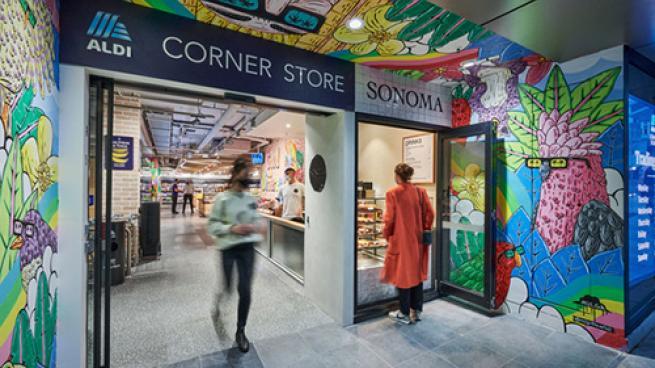 Aldi Debuts Small-Format 'Corner Store' Australia Landini Associates