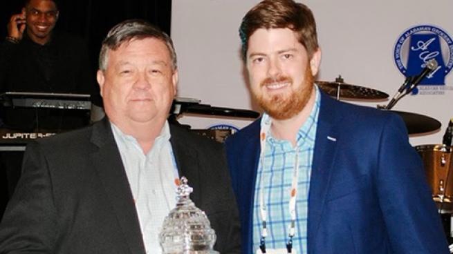 Jimmy Wright Receives NGA's Great American Award Chris Jones