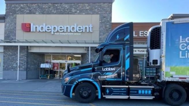 Loblaw Lessons Environmental Impact With Electric Trucks