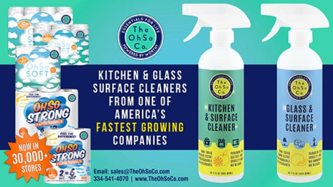 The OhSo Co. Surface Cleaners