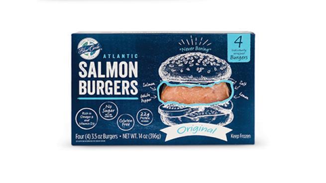 Blue Circle Original Salmon Burgers