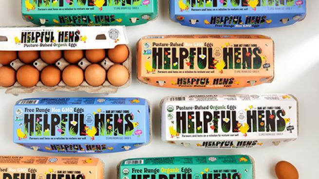 Helpful Hens Eggs