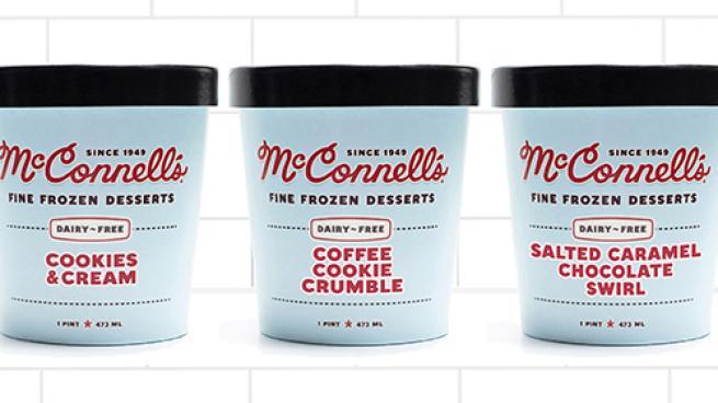 McConnell's Dairy-Free Frozen Desserts
