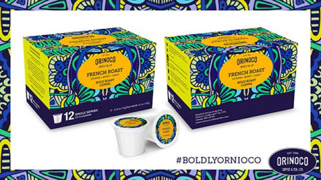 Single Serve Specialty Roasted Coffee from Orinoco Coffee & Tea Company