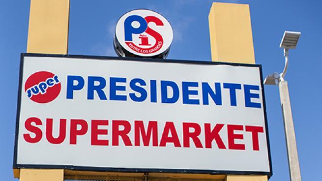 Presidente Supermarkets Grows in Florida