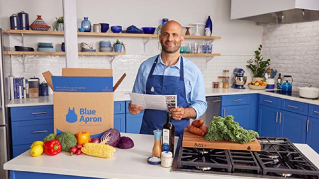 Blue Apron Teams With Chef Sam Kass