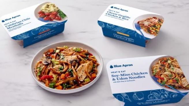 Blue Apron Adds Heat & Eat Products