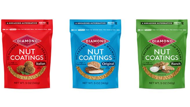 Diamond of California Nut Coatings