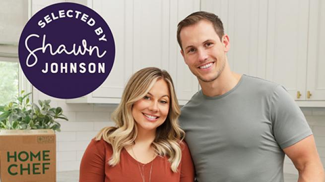Home Chef and Gymnast Shawn Johnson East Offer Limited-Edition Meal Kits