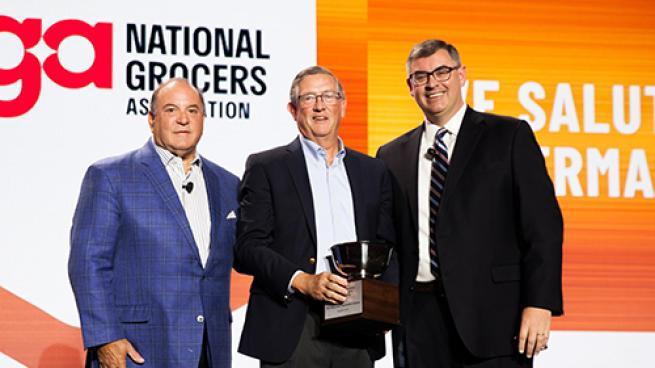 Industry Leaders Recognized at NGA Show Dennis Belcastro Greg Ferrara Peter J. Larkin