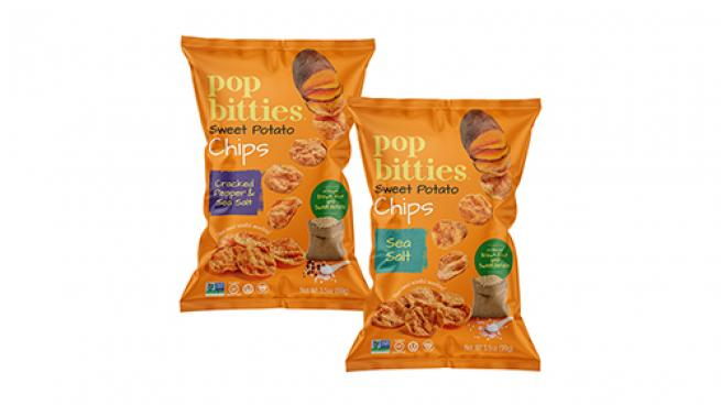 Pop Bitties Sweet Potato Chips