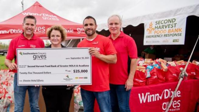 Southeastern Grocers Delivers Disaster Relief Through Donations, Fundraising