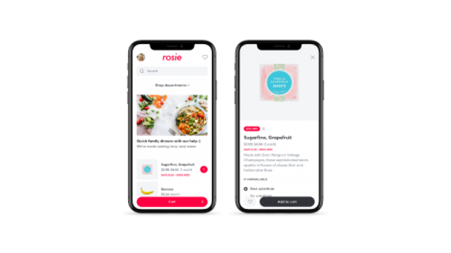 Rosie to Improve Online Shopping for Local Grocers