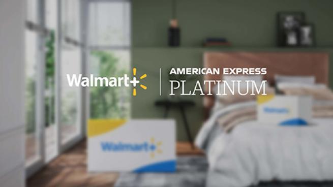Walmart+ Teams With Amex