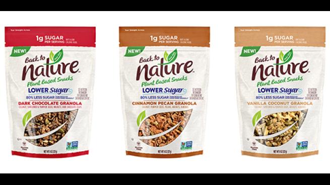 Back to Nature Lower Sugar Granola