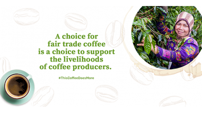 Retailers Take Part in Fair Trade Coffee Campaign Just One Cup