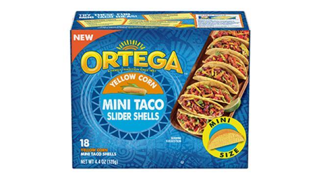 Ortega Mini Taco Slider Shells