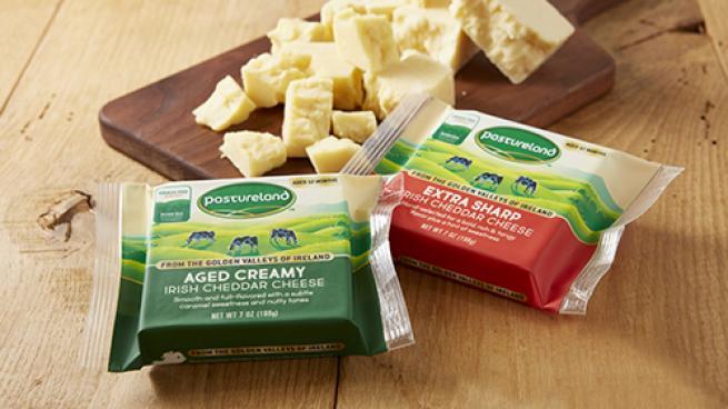 Pastureland Irish Grass Fed Cheddar Cheese