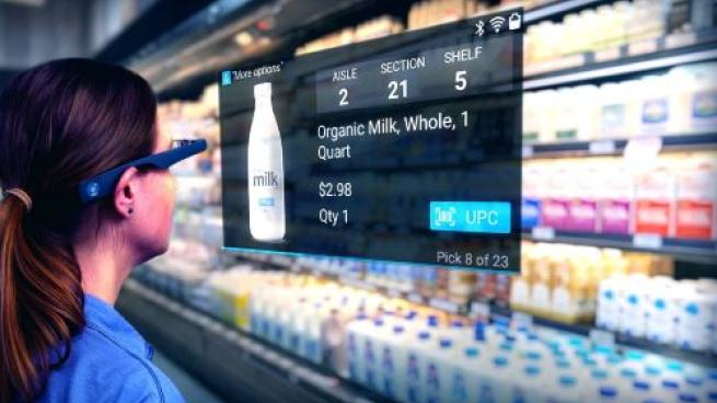 Grocers Get Ready for Futuristic In-Store Order Picking