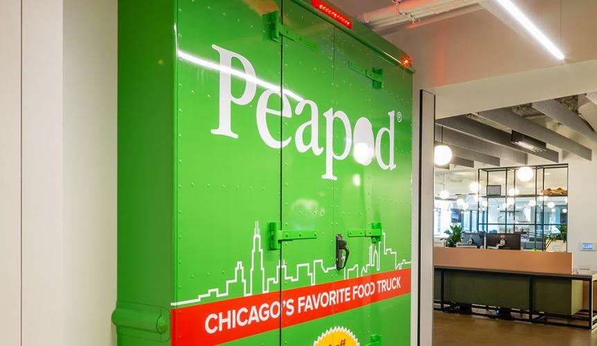 Online Grocer Peapod Relocates HQ From Suburbs to Chicago