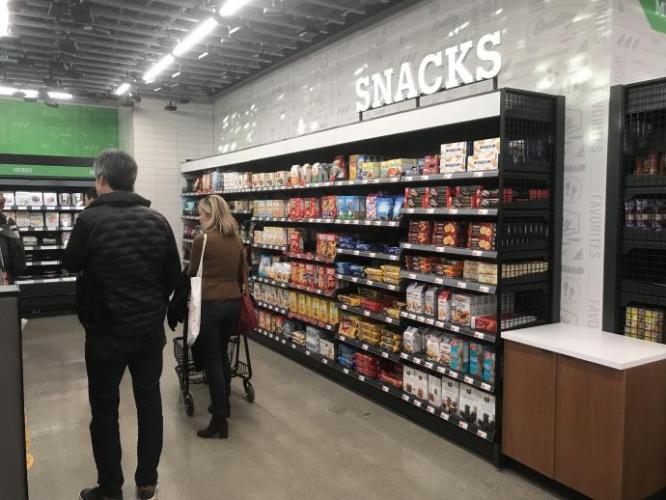 PHOTOS: A Look Inside the New Amazon Go Grocery