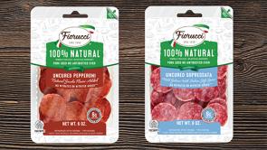 Fiorucci Uncured Pepperoni and Sopressata Slices