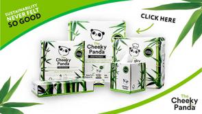 The Cheeky Panda, Plastic Free Tissues