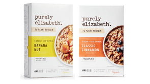 Purely Elizabeth 5 Grain + Seed Oatmeal Single Serve Packets