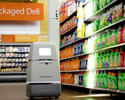 robot at grocery retail