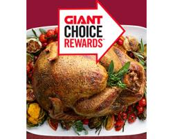 Giant free turkey