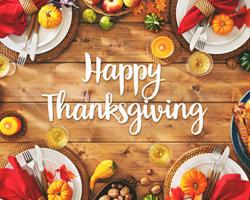 Happy Thanksgiving from Progressive Grocer