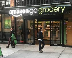PHOTOS: A Look Inside the New Amazon Go Grocery