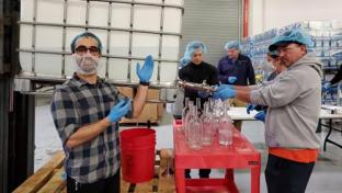Spirits Maker Converts Production to Hand Sanitizer