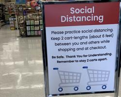Albertsons Adds Social Distancing Measures