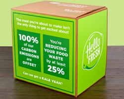 HelloFresh Helping Fight Climate Change
