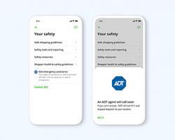 ADT, Instacart Team on Mobile Solution