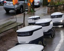 Robots Deliver More Groceries to Homebound Shoppers