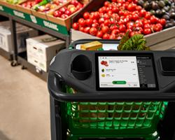 Amazon Unveils Smart Cart for New Store
