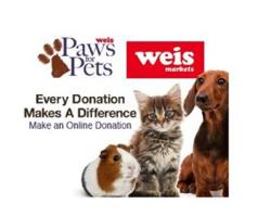 Weis Markets Puts Paws for Pets Online