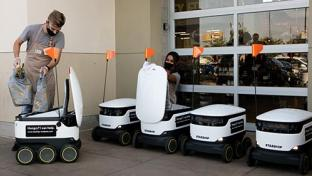 Save Mart Debuts Contactless Robotic Grocery Delivery