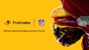 Postmates Takes the Snap From the NFL