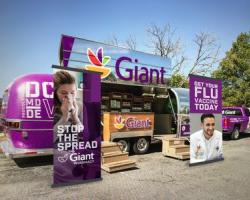 Giant Takes Flu Shots on Road With Airstream