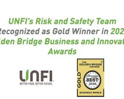 UNFI's Risk and Safety Team Receives Award