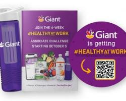 Giant Food Launches Healthy Workforce Initiative